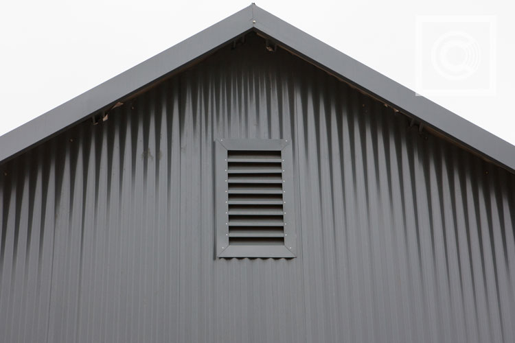 Residential house- Corrugated sheeting cladding